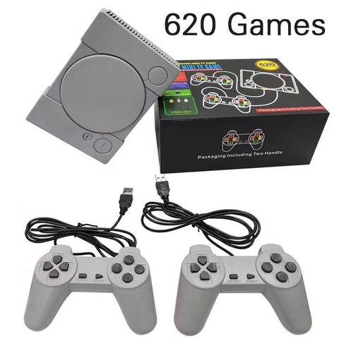 Игровая приставка 620 игр (super mini TV game)
