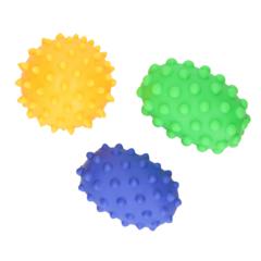 Сенсорные мячи Hencz Toys набор из 3 шт