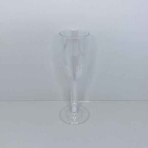 Бокал для шампанского Bonita пластиковый 160 мл прозрачный