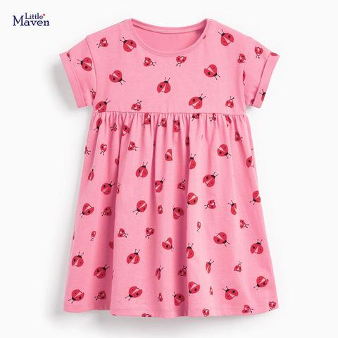 Платье для девочки Little Maven Божьи коровки