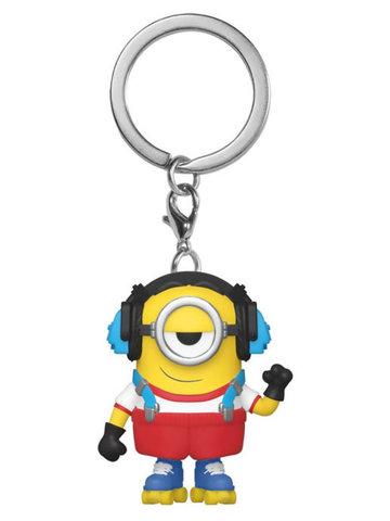 Брелок Funko Pocket POP! Keychain: Minions 2: Roller Skating Stuart 47797-PDQ