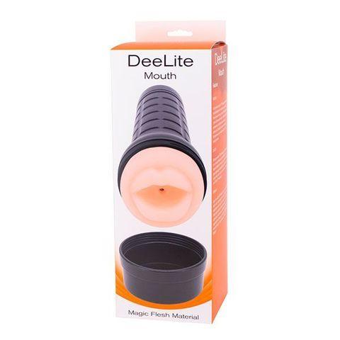 Мастурбатор-ротик без вибрации DEE-LITE