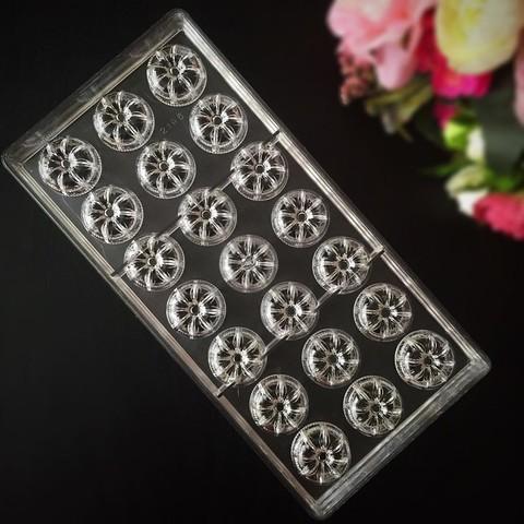 Поликарбонатная форма для шоколада  РОМАШКА 21в1