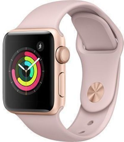 Watch S3 Cellular 38mm Gold Al/Pink Sport Band