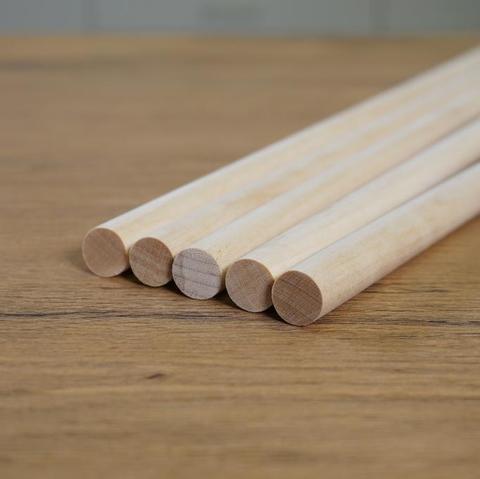Палочки для укрепления ярусов, длина 40 см, d=12 мм, 5 шт.