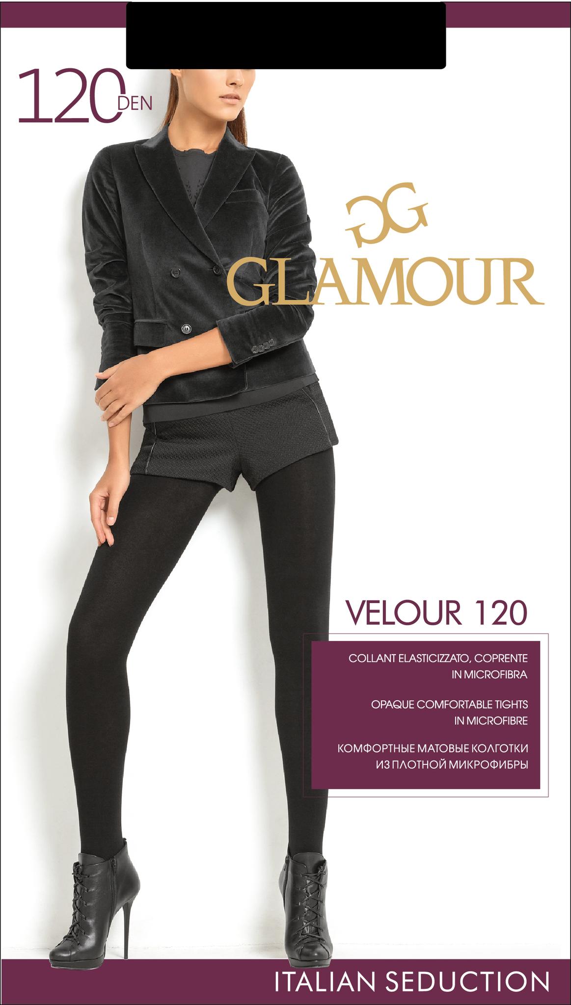 Glamour VELOUR 120 колготки женские