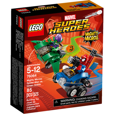 LEGO Super Heroes: Человек-паук против Зеленого гоблина 76064 — Mighty Micros: Spider-Man vs. Green Goblin — Лего Супергерои Марвел