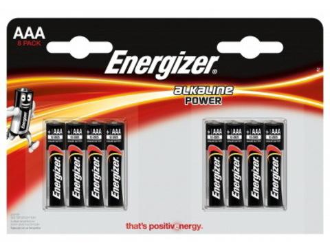 Батарейки Energizer LR03, AAA (8/96) BL