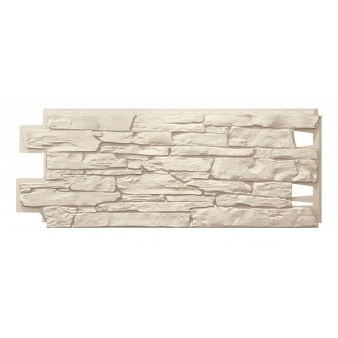 Фасадные панели (Цокольный Сайдинг) VOX Vilo Solid Stone Бежевый