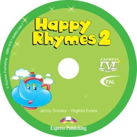 Happy Rhymes 2. DVD видео (PAL)