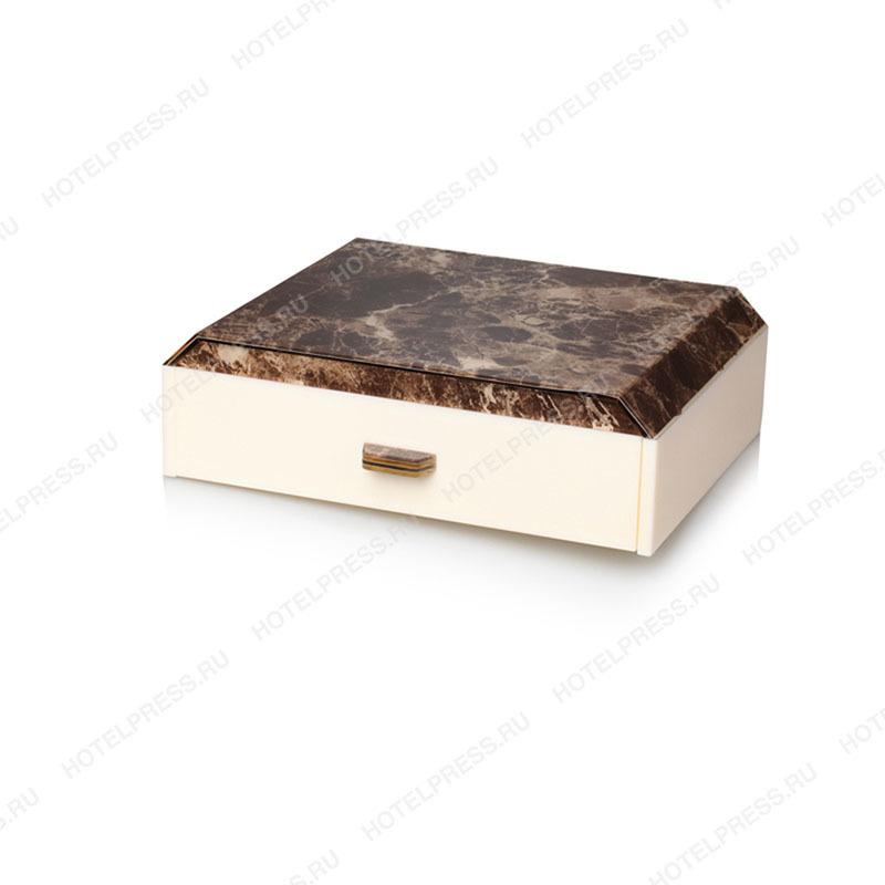 Набор для гостиничных номеров из акрила с расцеткой под камень
