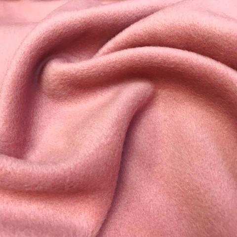 Ткань пальтовая Piacenza цвет розовый 3136
