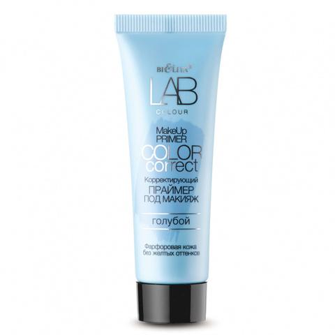 Белита LAB colour Праймер Корректирующий под макияж Color Correct голубой 20мл