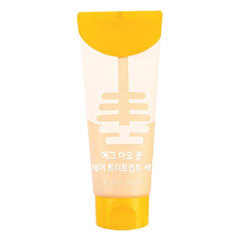 May Island Egg Mayonnaise Honey Hair Treatment Pack питательная маска для блеска волос