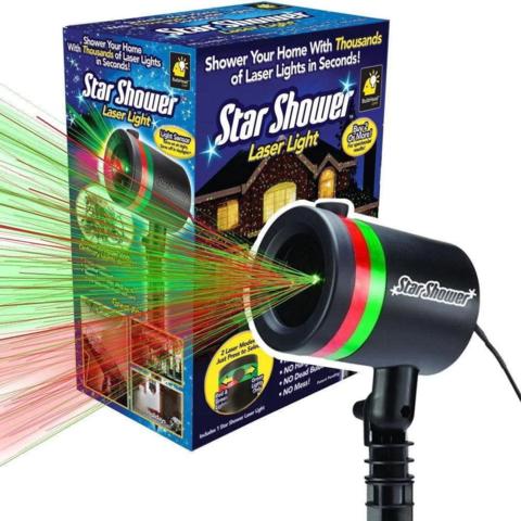Лазерный проектор уличный Star Shower Laser Light