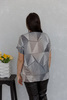 Блуза-футболка с камнями 01/30