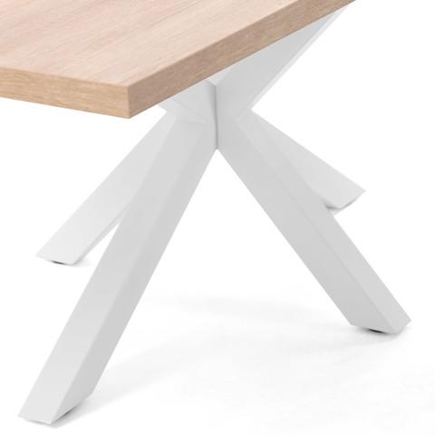 Стол Arya (белые ножки)