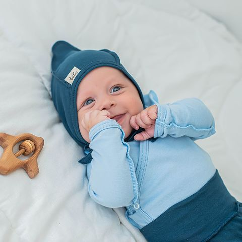 Baby hat 0+, Black Sea
