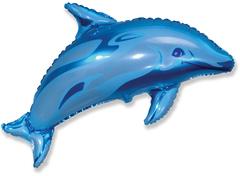 F Мини-фигура, Дельфинчик (синий), 14