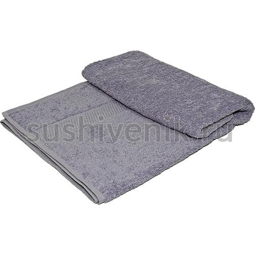 Полотенце махровое сиреневое, 140х70