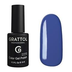 Grattol, Гель-лак 006, Cobalt, 9 мл