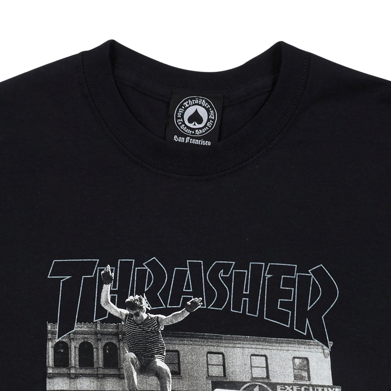 Футболка THRASHER Hackett Black