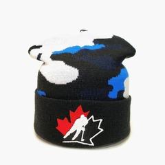 Вязаная шапка хоккей НХЛ сборная Канады (Hockey NHL Canada)