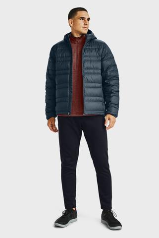 Мужская темно-синяя куртка UA Armour Down Hooded Under Armour