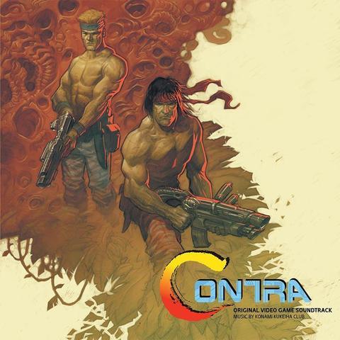Виниловая пластинка. Contra - Original Video Game Soundtrack