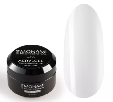 Monami AcrylGel Clear, 15 гр
