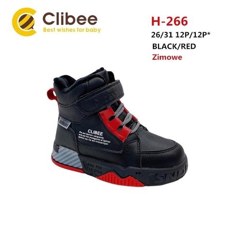 Clibee (зима) H266 Black/Red 26-31