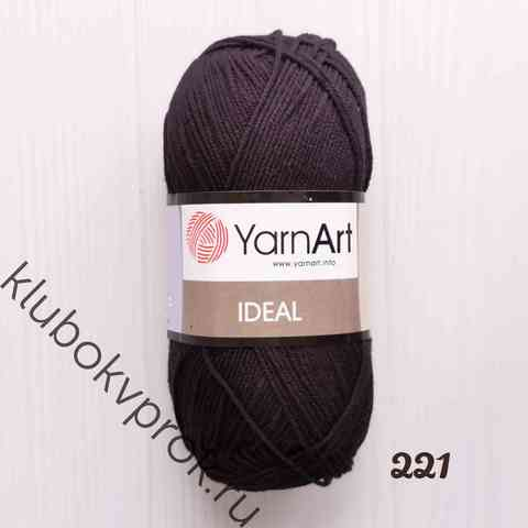 YARNART IDEAL 221, Черный