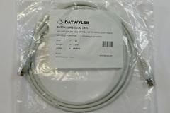 Кабель патч-корд Datwyler Cables 2 метра вилка RJ-45, вилка RJ-45, Patch cable RJ45 Cat.6A (IEC) серый, 653510