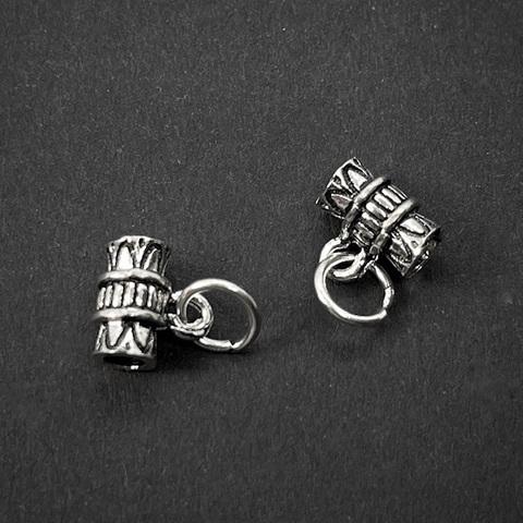 Бейл с кольцом 7,5 мм серебро 925 1 шт