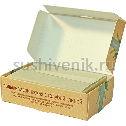 Мыло с ярким мужским ароматом полыни таврической