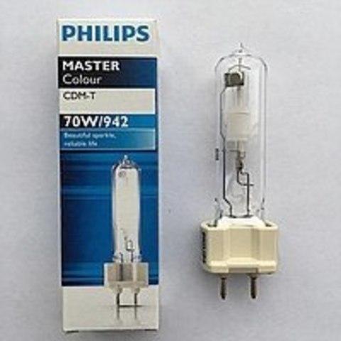 PHILIPS CDM-T 70W/942 G12 199270 Лампа металлогалогенная Лампа Philips G12 70Вт
