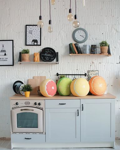 Подушка декоративная Gekoko «Грейпфрут» 5