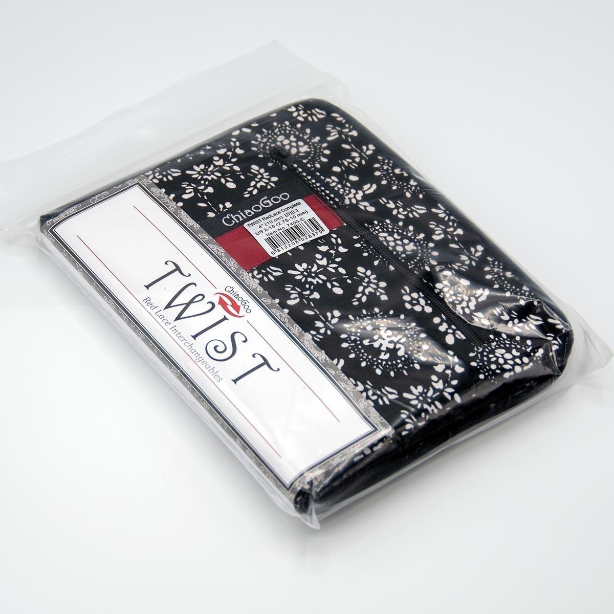 Набор укороченных металлических спиц 10см, Complete, ChiaoGoo