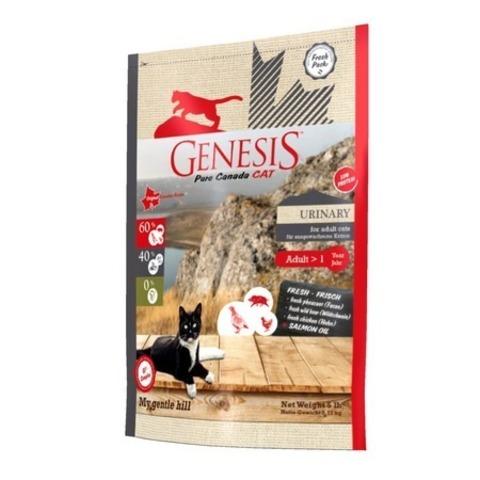 Genesis Pure Canada My Gentle Hill Urinary для взрослых кошек, склонных к проблемам мочеполовой системы с кабаном, фазаном и курицей 2,268 кг.