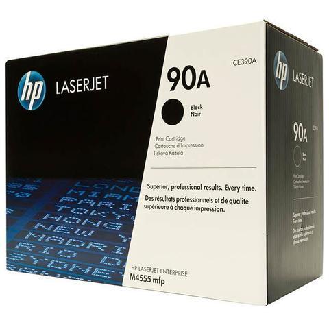 Оригинальный картридж HP CE390A (№90A), чёрный