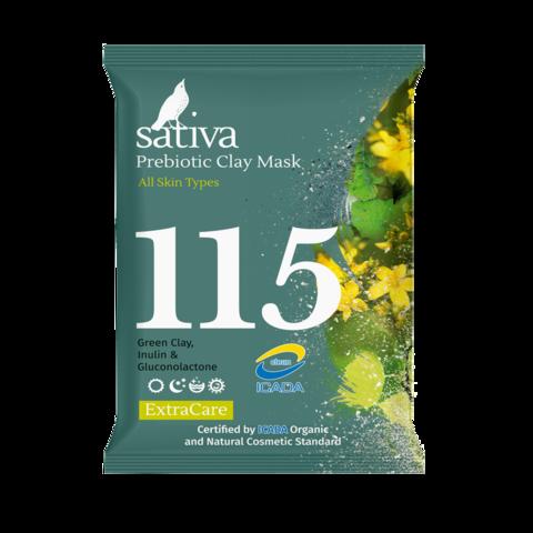 Маска минеральная с пребиотиком №115 | 15 гр | Sativa