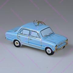 Фарфоровая елочная игрушка ВАЗ 2101