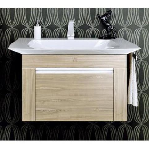Мебель для ванной Aqwella Simphony 90/70 цвет дуб сонома Sim.01.07/1/DS