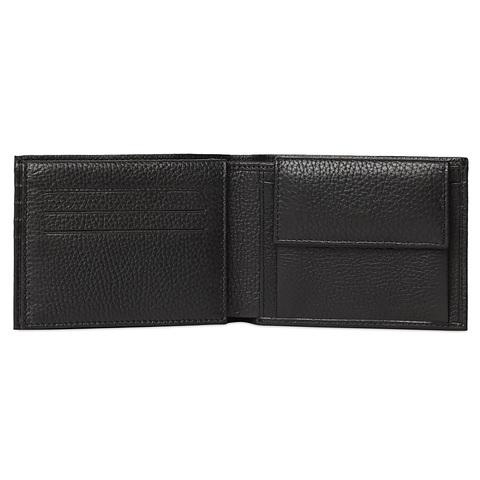 Кошелек Piquadro Modus, черный, 12,5x9x3 см