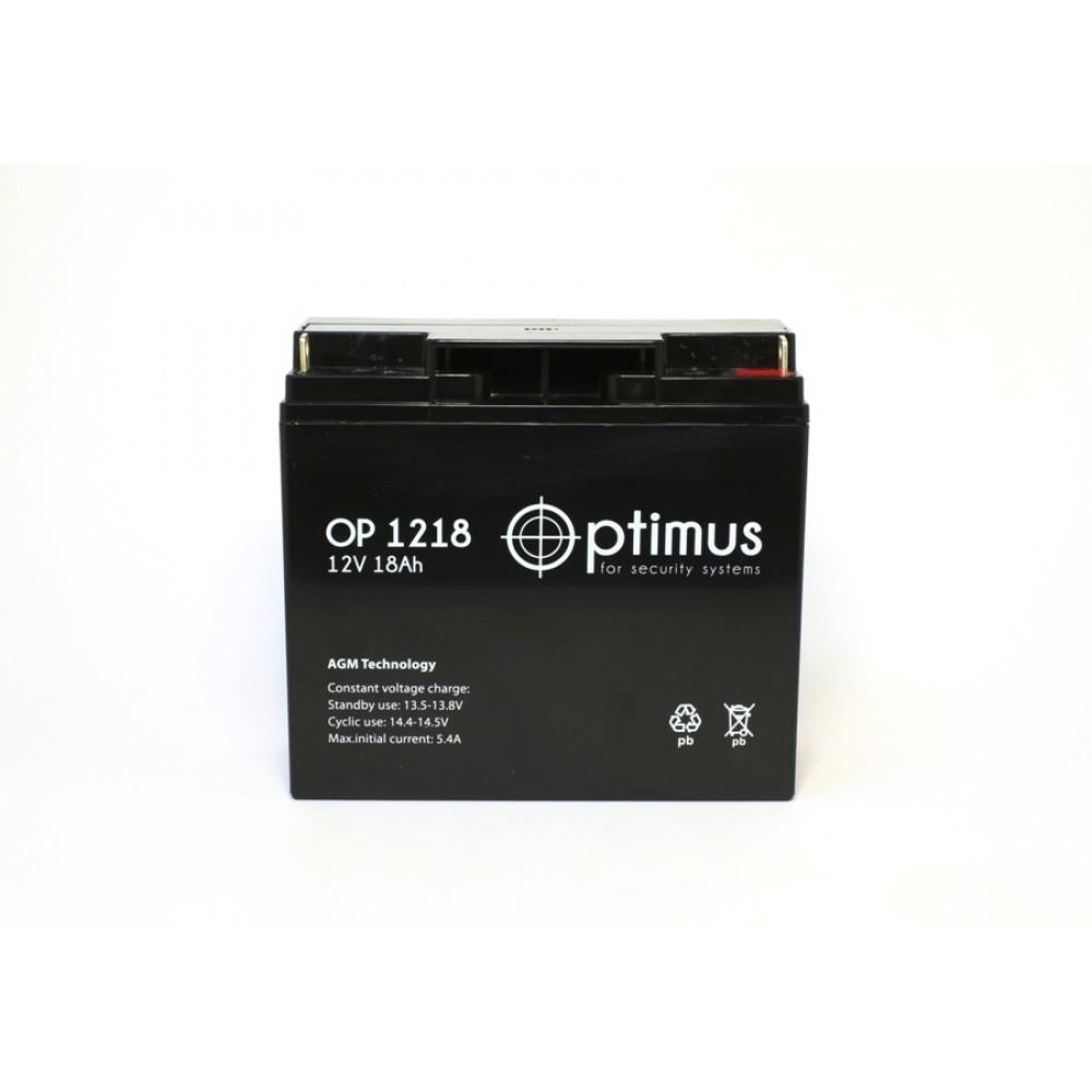 Аккумулятор для эхолотов 18 АЧ 12В