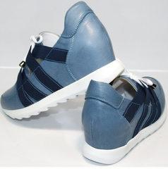 Туфли под кроссовки Ledy West 1484 115 Blue.