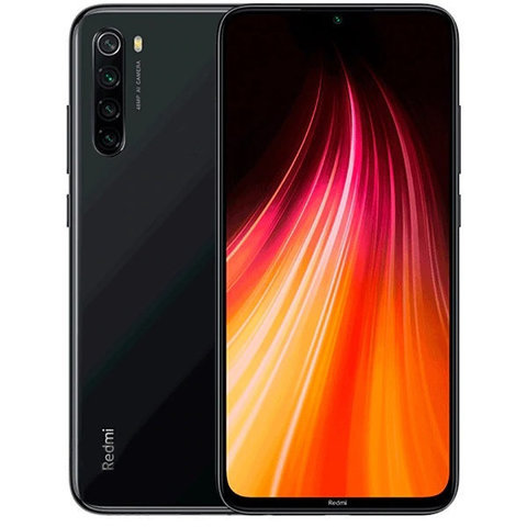 Смартфон Xiaomi Redmi Note 8 4/128GB Black EU (Global Version)