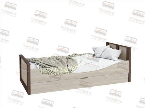 Кровать Sontelle Тетлин с ящиком для белья