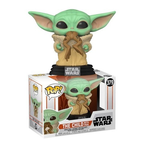 Funko POP: Star Wars The Mandalorian – The Child with frog (Baby Yoda 379)