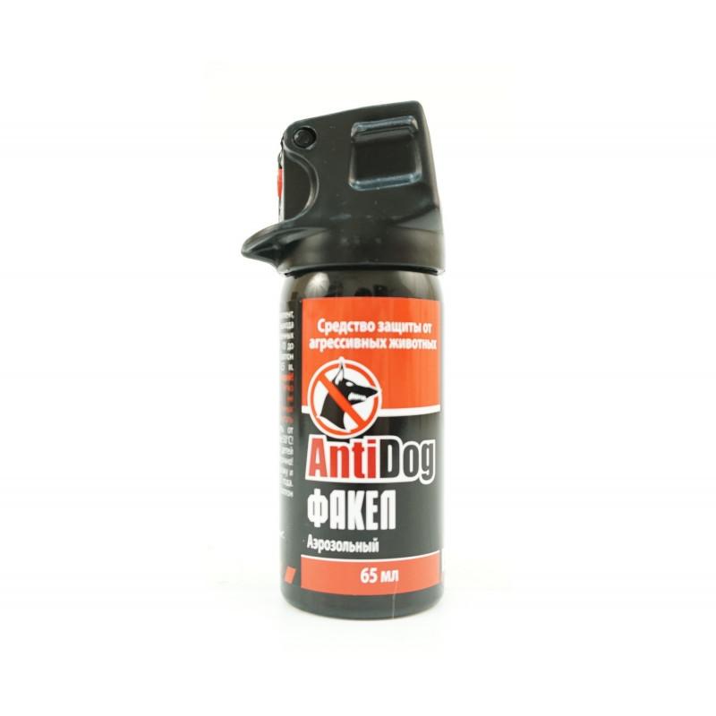 Распылитель-баллончик AntiDog «Факел», 65 мл – купить в магазине «Ушатайка»